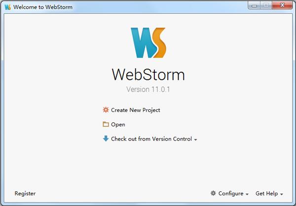 JavaScript IDE WebStorm(Html5开发工具) V11.0.1