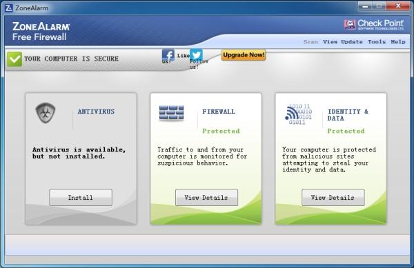 ZoneAlarm Free Firewall(个人防火墙)V15.3.064.17729 官方版