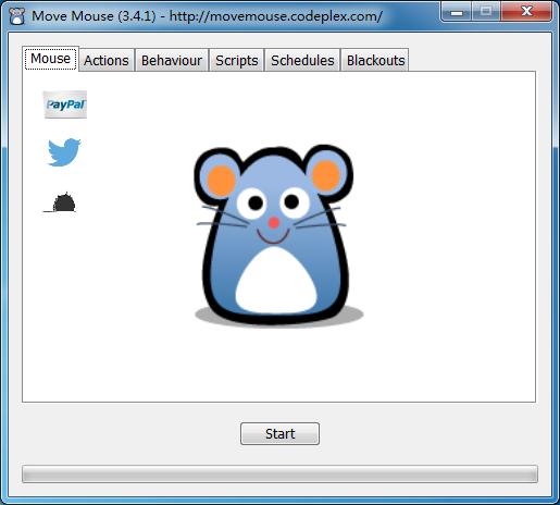 Move Mouse(鼠标自动移动工具)V3.4.1 官方便捷版