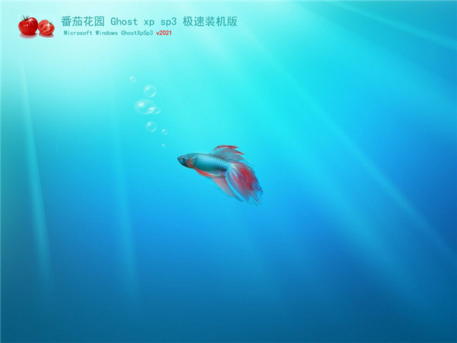番茄花园 Ghost XP SP3 极速装机版 v2021